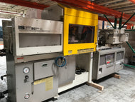TOSHIBA MODEL ISF 90P VL / 90 TON PLASTIC INJECTION MOLDING MACHINE REF # OC2161