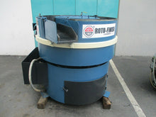 HAMMOND / ROTO-FINISH MODEL ST-4MSLT 4 CU. FT. VIBRATORY FINISHING MACHINE