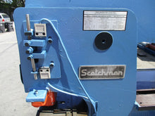 65 TON SCOTCHMAN HYDRAULIC IRONWORKER MODEL 6509-24M