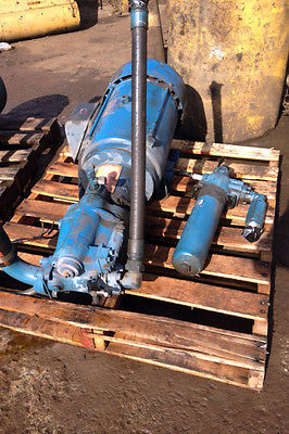 USED 30HP HYDRAULIC PUMP / WITH RELIANCE ELECTRIC MOTOR -