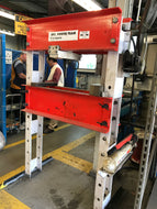 SPX 55 TON CAPACITY HYDRAULIC / ARBOR PRESS H FRAME TYPE / SHOP PRESS