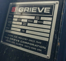 LATE GRIEVE INDUSTRIAL WALK IN 4 X 4 X 6 FOOT GAS FIRED BATCH OVEN 500 DEGREES
