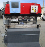 PROMECAM MODEL RG 25-12 HYDRAULIC CNC PRESS BRAKE W/ AUTOGAGE 4000 BACKGAGE