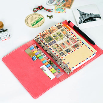 Macaroon Leather Personal Organizer - Mommas Mix