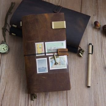 100% Genuine Handmade Leather Journal - Mommas Mix