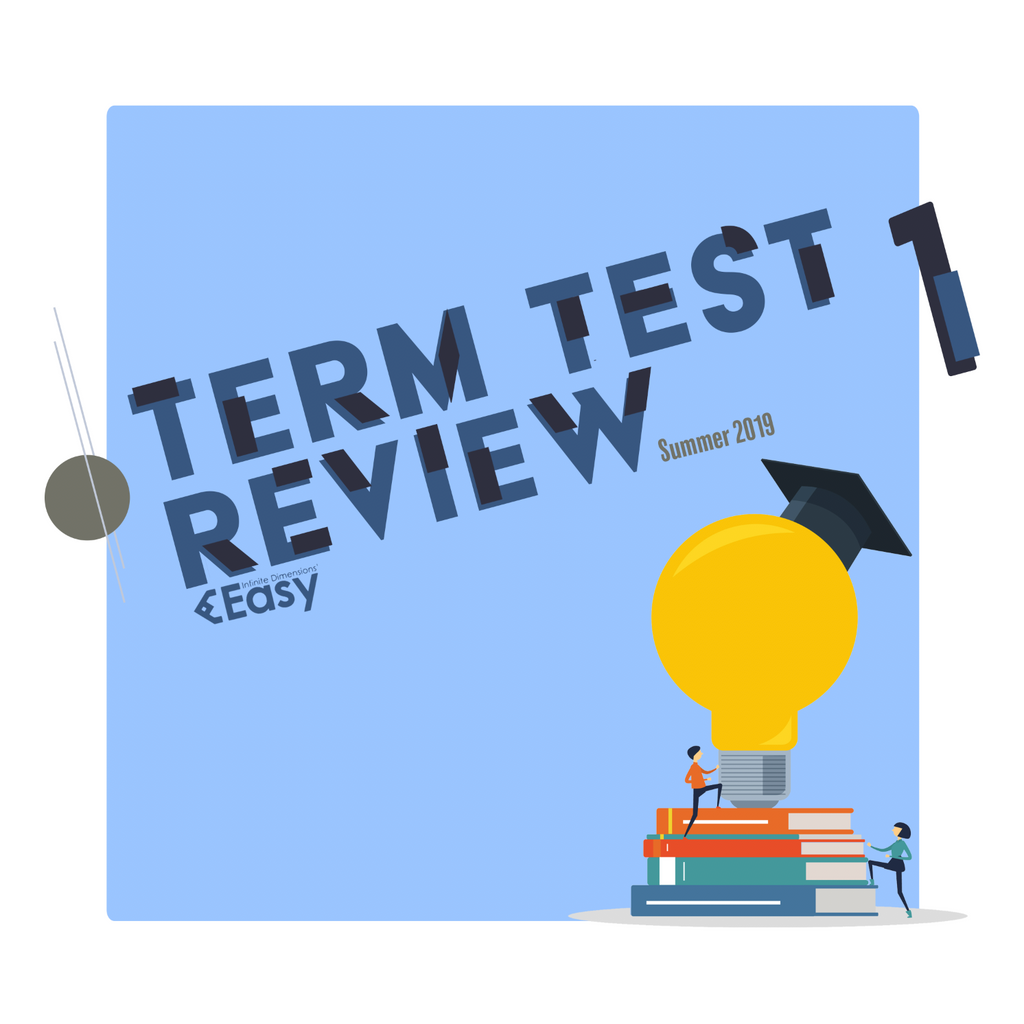 2019 SUMMER CSC165Y1Y TT1 Review