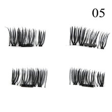 1 Pair 3D Magnet False Eyelash - 05 - Headwear