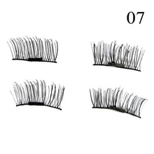 1 Pair 3D Magnet False Eyelash - 07 - Headwear