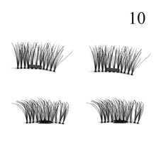1 Pair 3D Magnet False Eyelash - 10 - Headwear