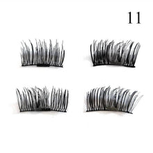 1 Pair 3D Magnet False Eyelash - 11 - Headwear