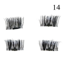 1 Pair 3D Magnet False Eyelash - 14 - Headwear