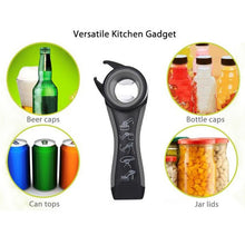 5 in 1 Multi-function Stainless Steel plastic Can bottle Opener