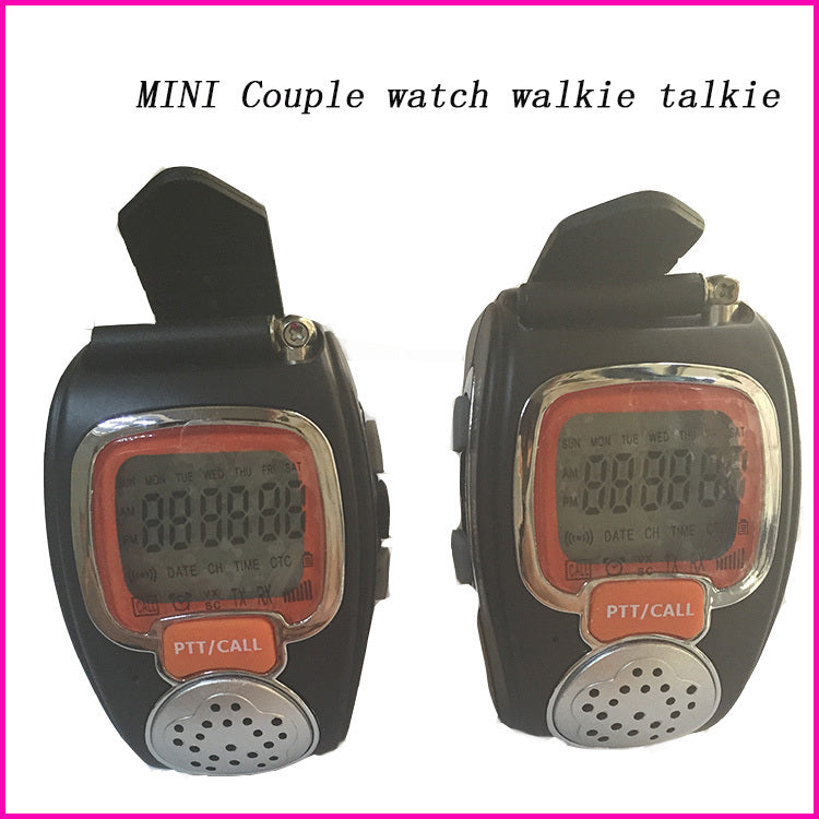2pcs 22CH Backlit LCD portable radio set Wrist watch two way radio comunicador for kid couple interfone pair Walkie Talkie Watch