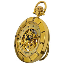 August Steiner Men's Mechanical Movement Pocket Gold-Tone Watch - Free Shipping Today - Overstock.com - 14259497