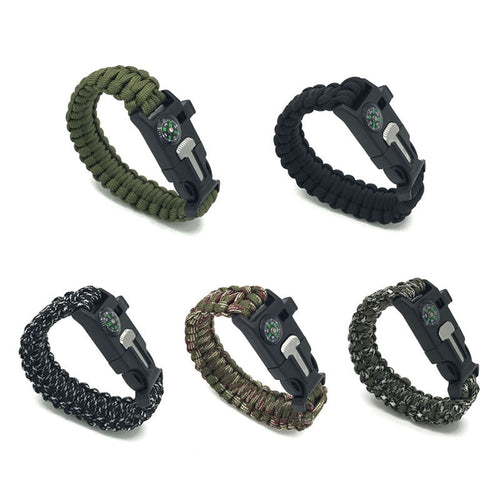 Unisex Bracelet Paracord Survival & Emergency Multi Uses-Shoppabilities.com