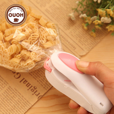 Portable Mini Heat Sealing Machine - Seal on an Impulse, Anytime, Anywhere