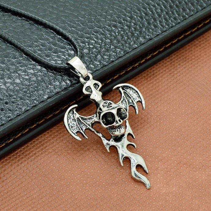 Skull Necklace Stainless Steel Pendant Necklaces Jewelry