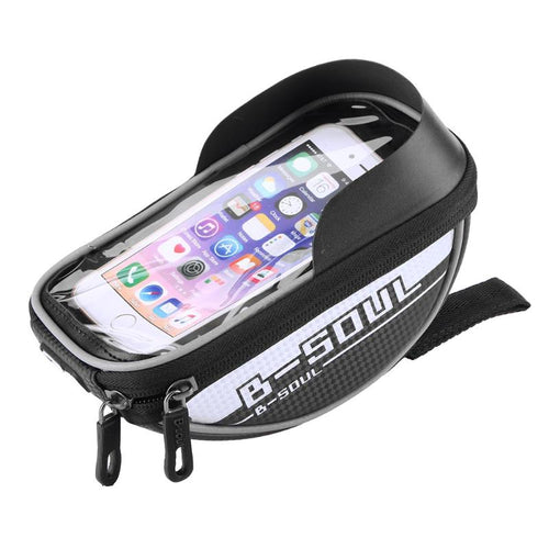 Bicylce Helmut Hiding Spot For Smartphone Rainproof Touch Screen Case Bicycle Accessories 4 Color