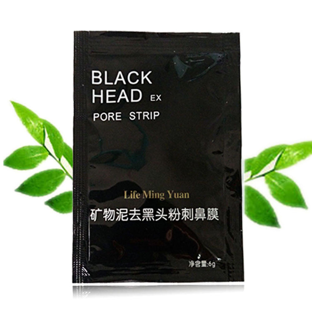 5pcs Remove High Quality Mineral Mud Nose Blackhead Pore Cleansing Cleaner Removal Nose Membranes Strips