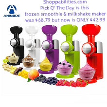 Frozen Fruity and Smoothie Machine