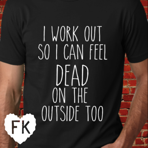 I Work Out Men's Tee