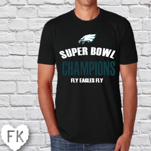 Fly Eagles Fly Super Bowl Men's Tee
