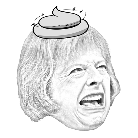 "Theresa ""Prime Poopster"" May 