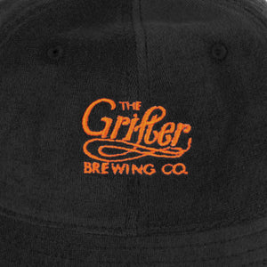 Load image into Gallery viewer, GRIFTER OG BLACK 5 PANEL CAP
