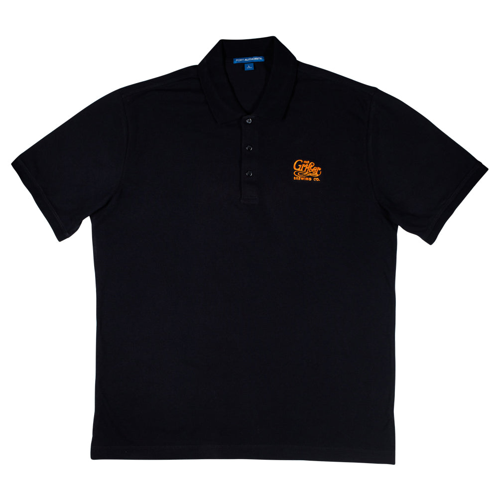Load image into Gallery viewer, GRIFTER NAVY OG EMBROIDERY POLO