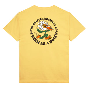 Load image into Gallery viewer, 'FRESH AS A DAISY' TEE- YELLOW