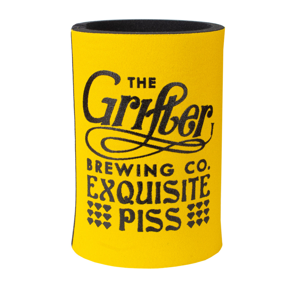 EXQUISITE PISS STUBBY COOLER YELLOW