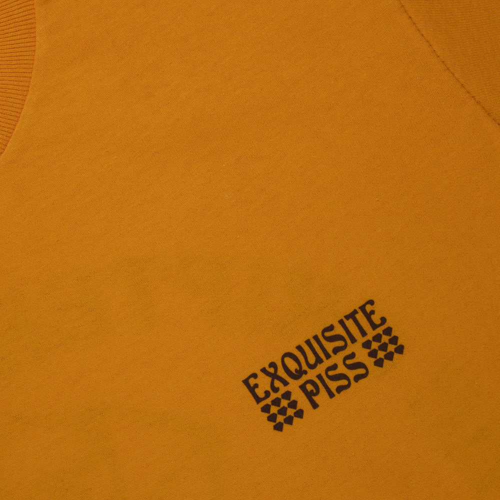 EXQUISITE PISS GOLD TEE