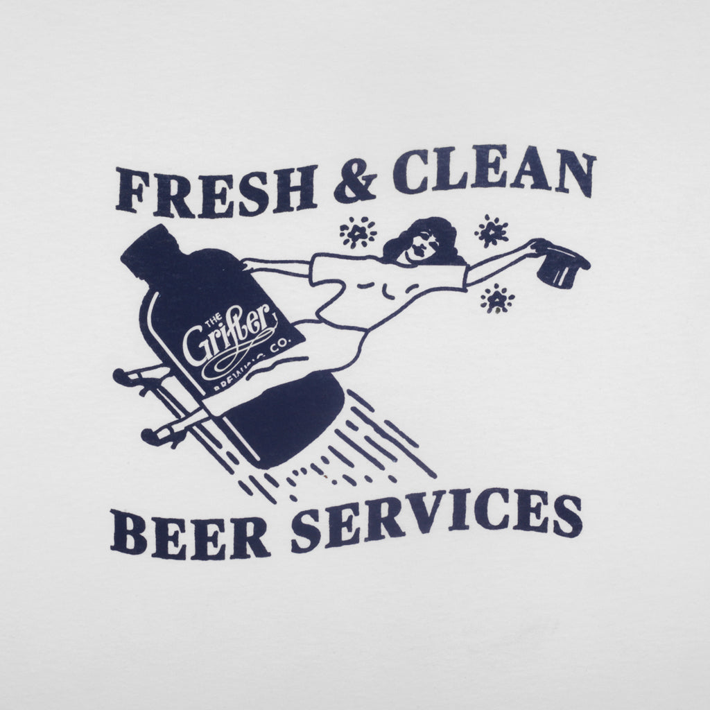 FRESH & CLEAN TEE WHITE