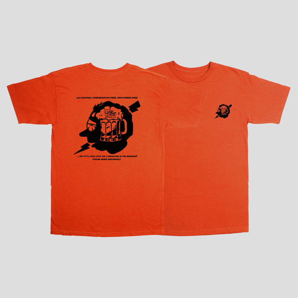 HEADACHE ORANGE TEE
