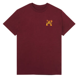Load image into Gallery viewer, 'JAZZY BEERS' TEE - BURGUNDY