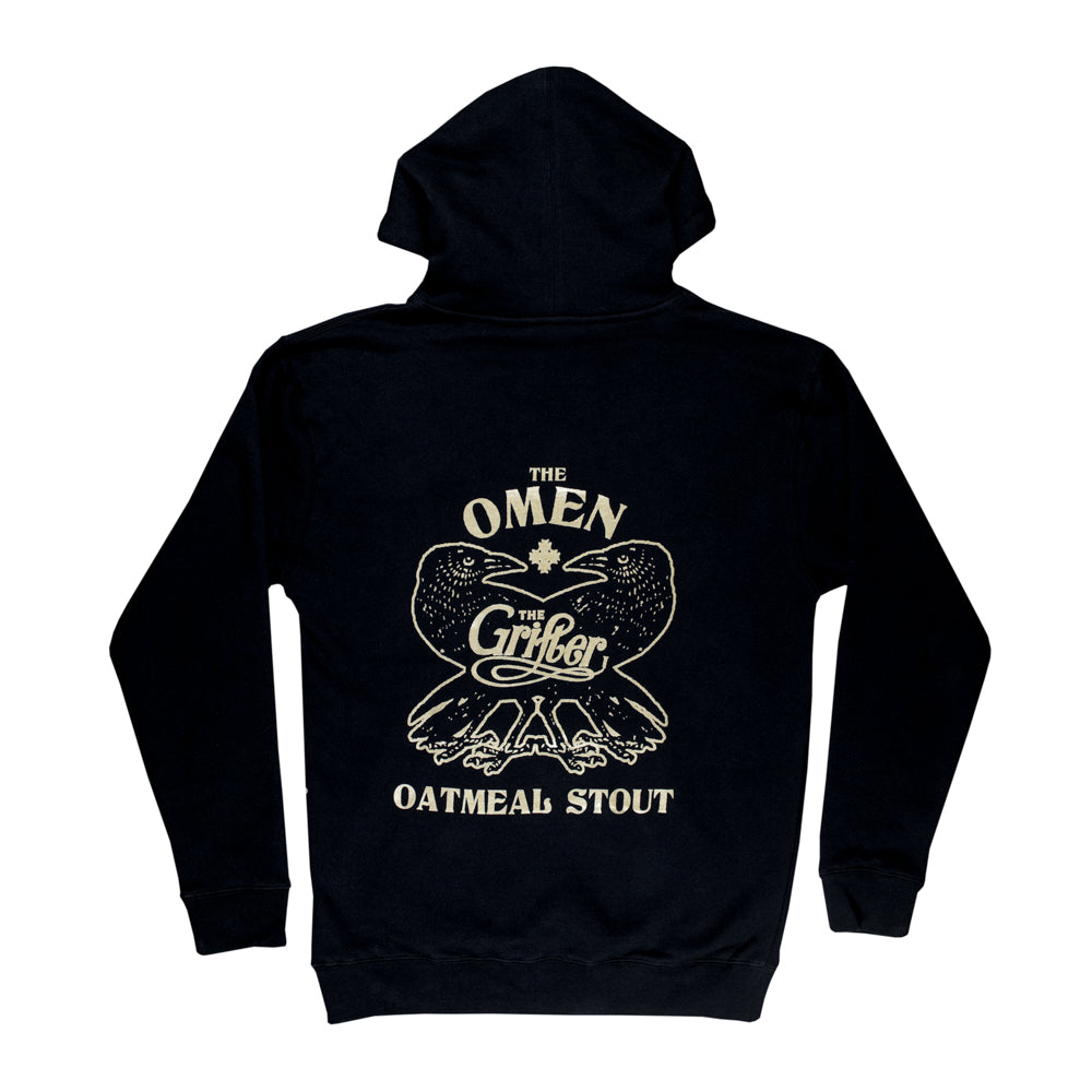 Load image into Gallery viewer, OMEN BLACK HOODY