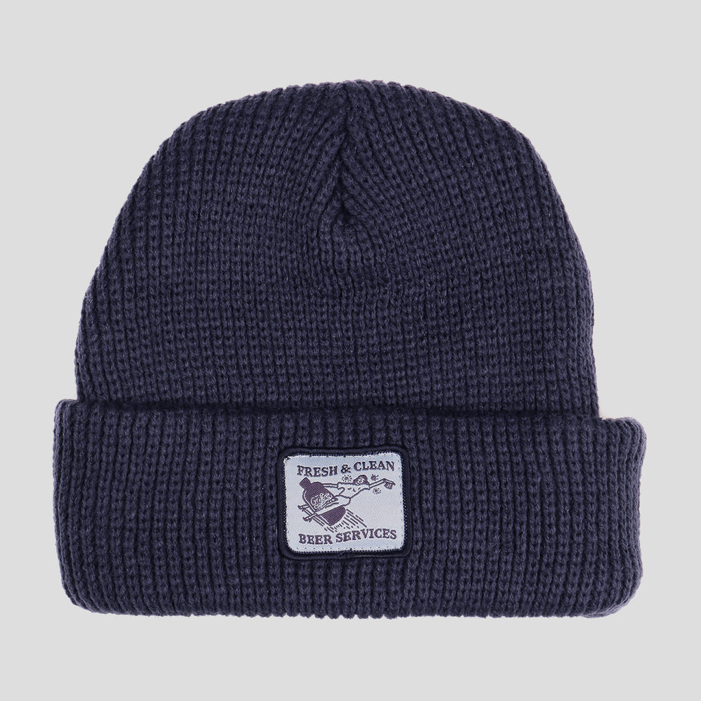 FRESH & CLEAN NAVY BEANIE