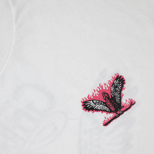 Load image into Gallery viewer, PINK GALAH WHITE TEE - WHITE