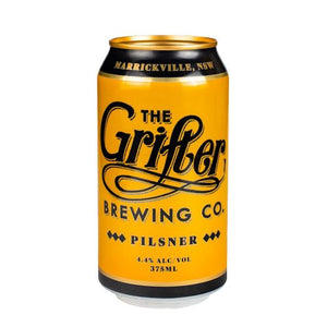 GRIFTER PILSNER 375ML CANS (CASE OF 24)