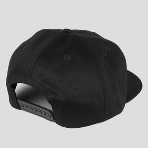 Load image into Gallery viewer, POOL~ROOM BLACK 5 PANEL CAP