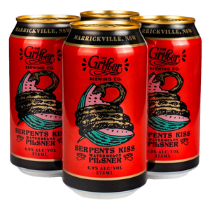 SERPENTS KISS 375ML CANS (4 PACK)