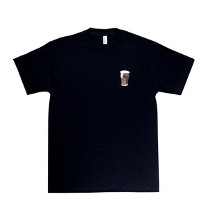 DARK FROTHY PUFF TEE BLACK