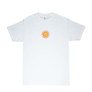 EMBROIDERED SUNSHINE XPA TEE WHITE