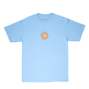 Load image into Gallery viewer, EMBROIDERED SUNSHINE XPA TEE BABY BLUE