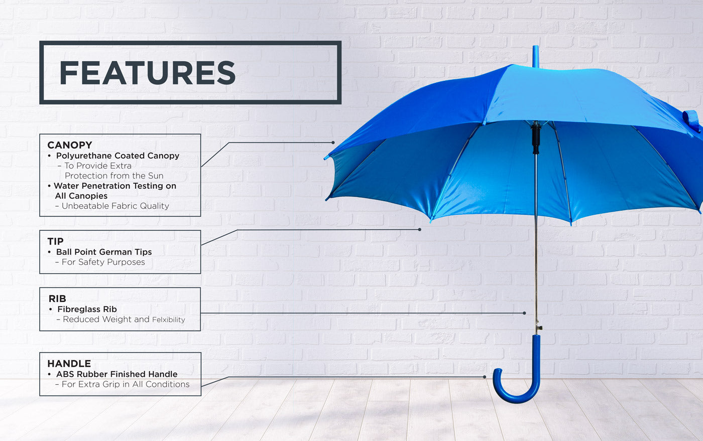 rain or shine umbrella technologies