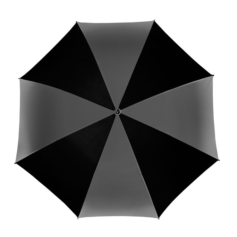 Golf Manual Open Umbrella - Charcoal/Black