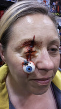 Gouged Hanging Eyeball Prosthetic