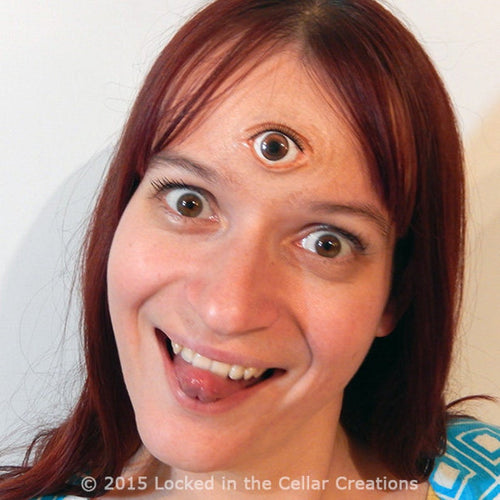 Wide Open Third Eye Prosthetic