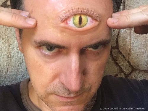 Extra Large Third Eye Prosthetic