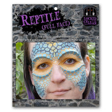 Reptile Facial Prosthetic Set